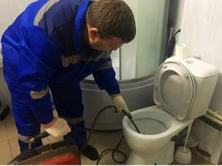 Santehnic 24/7 чистка канализации! Desfundarea canalizarii! замена труб!