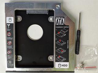Адаптер HDD Caddy Sata to Sata - 9.5mm и 12,7мм.