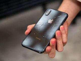 550 леев замена заднего стекла на любой iPhone от 8 до х макс от 8 до х макс