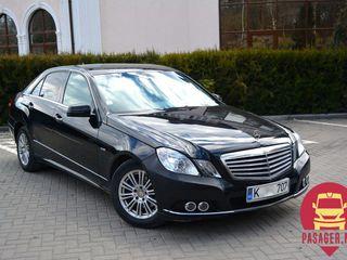 Mercede-Benz E-class de la 60Euro!VIP!Chirie auto 24/24