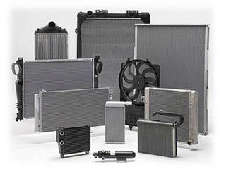 Радиаторы,интеркулеры,вентиляторы на автобусы