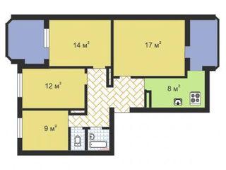 Urgent !!! Apartament cu 4 odai la etajul 2 din 9. Pe Mircea cel Batin. Prețul 37000€!!!