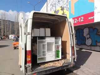 Transport de marfuri prin oras si tot teritoriul Moldovei.Tehnica ,bucatarii,frigidere.mobila ect.