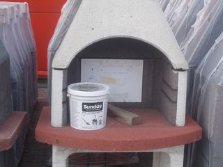 Gratar - mangal nou de uzina ( barbeque) din beton