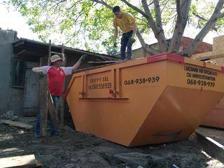 Вывоз мусора контейнером/бункером!!!