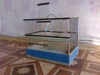 """Продам клетку для птиц и мелких грызунов вместе с кормушкой и поилкой. Продам """"родилку"""""""