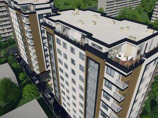 Penthouse de vânzare, s. Râșcani, bd Moscova 4/2. Compania de Construcții Vasigur Grup.