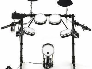 Модуль Roland td-6v + барабанная установка millenium mps-300 с двумя бочками .