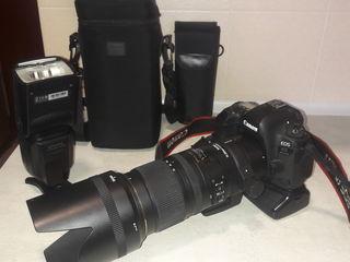 Canon 6D Mark II , Sigma 70-200 mm 2.8, Triopo E- TTL / I-TTL ,Grip