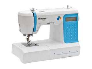 Компьютер-нная швейная машина Minerva Decor Expert (Гарантия 3 года, доставка по Молдове, Кредит!)