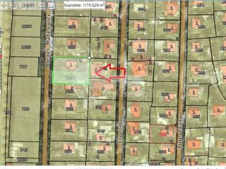 Lot de teren, prima linie, Stăuceni, 12 ari !