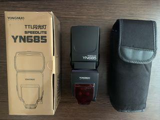 Youngnuo Yn-685 - вспышка со встроенным радиосинхранизатором!