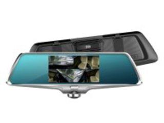 Авторегистратор зеркало  360 градусов с камерой заднего вида