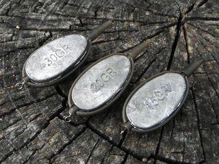 Набор методных кормушек Carp Expert для лова карпа и амура. Комплект 3 кормушки + пресс форма.