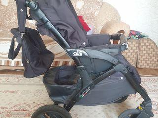 Продается недорого отличная детская коляска Е класс 3в1. Пробег 2 года.