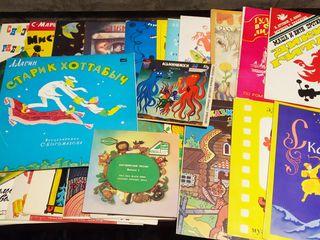 Пластинки детские , сказки , музыкальные ( СССР ), видеокассеты .