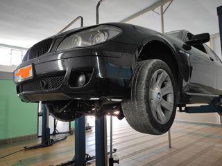 Замена и реставрация рычагов, рулевой рейки BMW