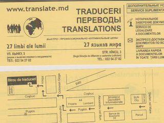 Birou de traduceri translate