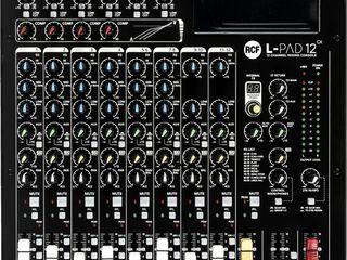 Mixer analogic RCF L-PAD 12cx / RCF L-PAD 12cx аналоговый микшер - pret: 290 euro