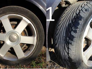 Seturi jante anvelope,диски скаты  15''-18'' Audi VW