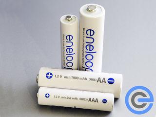Аккумуляторы Panasonic Eneloop АА ААА / Eneloop Pro AA по лучшей цене в городе!