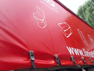 Prelate, brezenturi pentru camioane din tesatura PVC