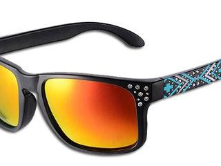 Супер очки c поляризованным фильтром и стразами