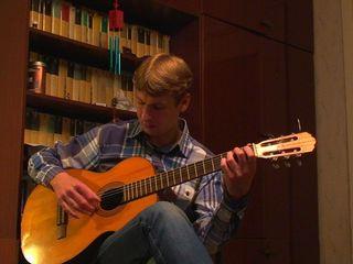 Обучение игре на гитаре!!!