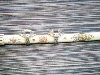 Церемониальный самурайский меч.
