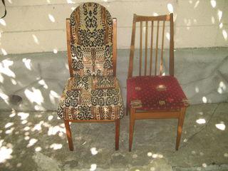 Продаю стулья мягкие(6 шт. и 3 шт.) б/у в отличном состоянии, стол
