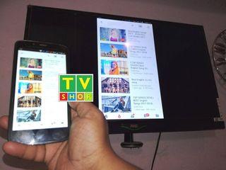 Адаптер Anycast M9 Plus передача видео со смартфона на  ТВ по WiFi