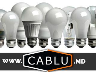 Becuri. Лампы. (cablu.md)