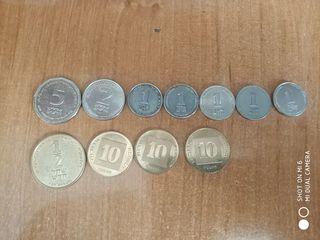 Продам монеты израиля