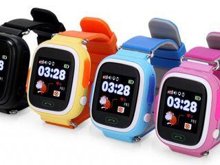 Детские часы SMART BABY WATCH Q80 часы с GPS трекером Smart Baby Watch – это инновационный продукт,