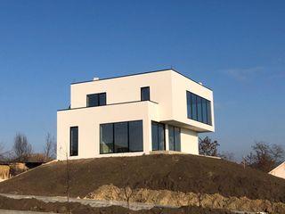 Утепление фасадов. стиль hitech, modern