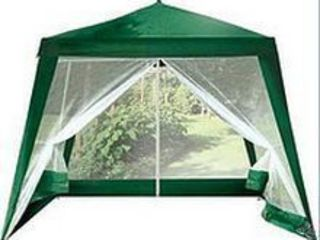 Садовый павильон-шатер с москитной сеткой и молниями (3x3 м)