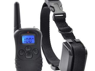 Zgarda dresaj caine telecomanda lcd antilatrat comportament electrica