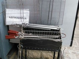 мангалы,решетки для барбекю и гриля