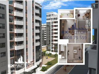 Exfactor Grup - Buiucani 1 cameră 45 m2, et. 3 la cel mai bun preț, direct de la dezvoltator!