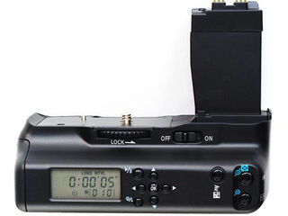 Батарейный блок с ЖК дисплеем для Canon 7D 650D 600D 550D, Nikon D700 D300 D7100.
