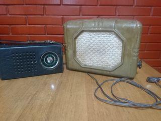 приемник SELGA 1974г и радиоточка Звук