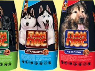 Корма для собак от производителя