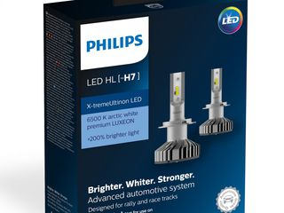 Lămpi LED Philips Premium 6000K 200% 55W H7 autoled.md
