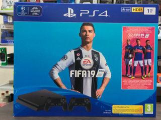 PlayStation 4 Pro (1T)+FIFA 19 лучшая замена старой приставке!