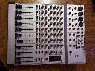 Profesional Dj Mixer Behringer Eurorack Mx 160