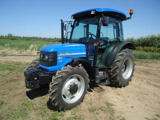 Reducere tractor Solis (60 cai, 4x4) pentru lucru in campuri