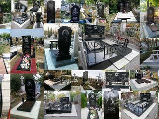 Памятники надгробные из гранита: изготовление, установка, реставрация