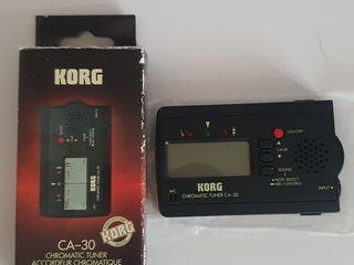 Korg CA30 цифровой хроматический тюнер