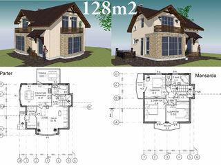 Casa cu mansarda construita dupa cele mai performante tehnologii mondiale !!!