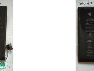Se vinde 2 acumulatoare pentru iphone 5,7 originale